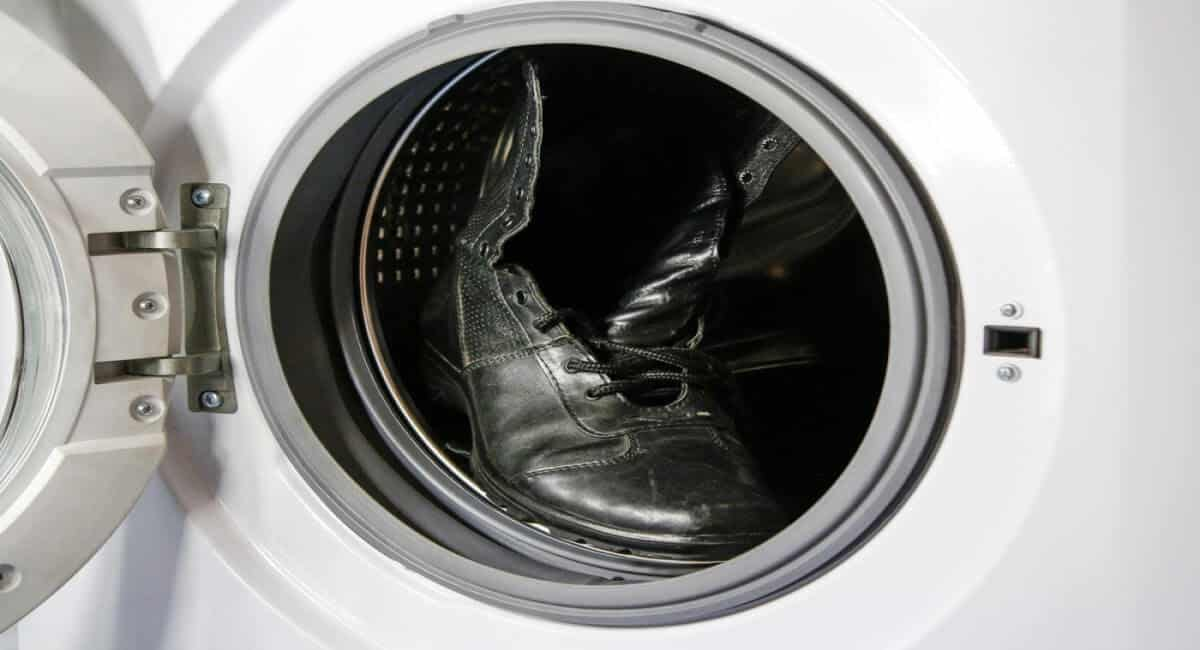 Boot in Washer