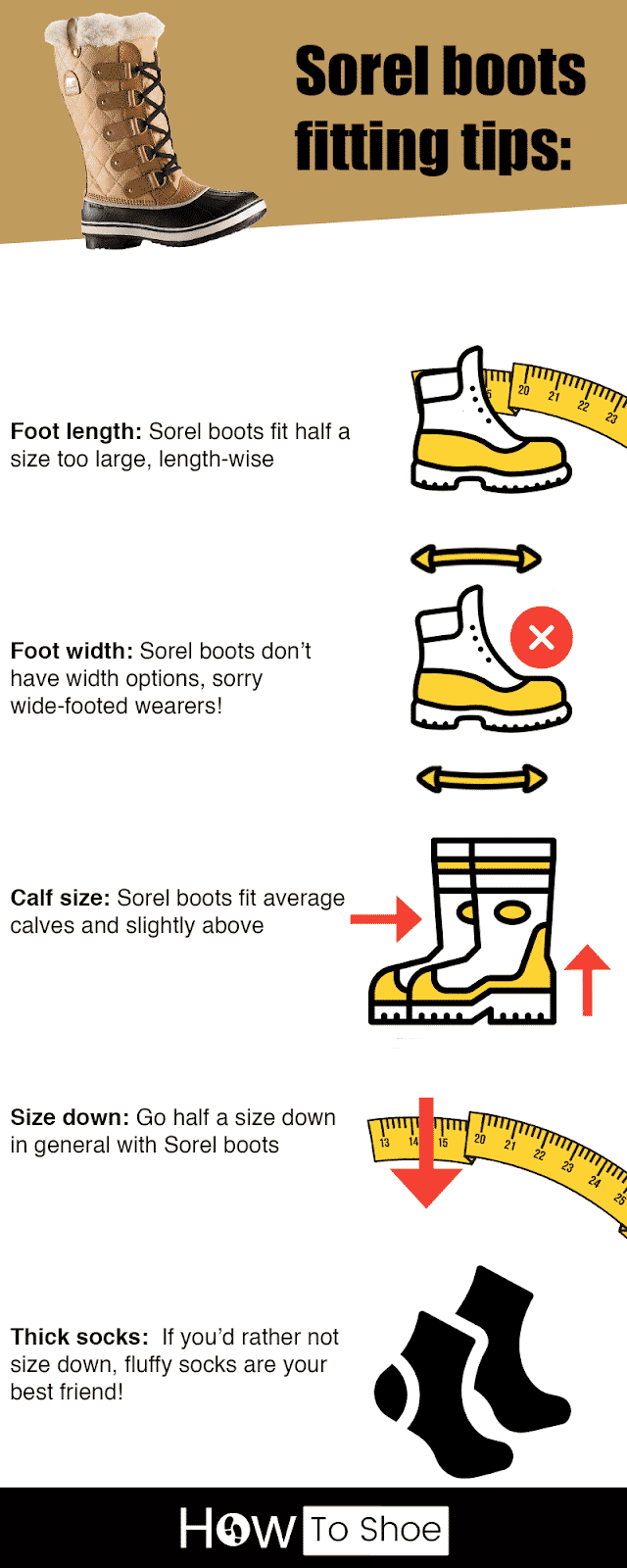 How Do Sorel Boots Fit
