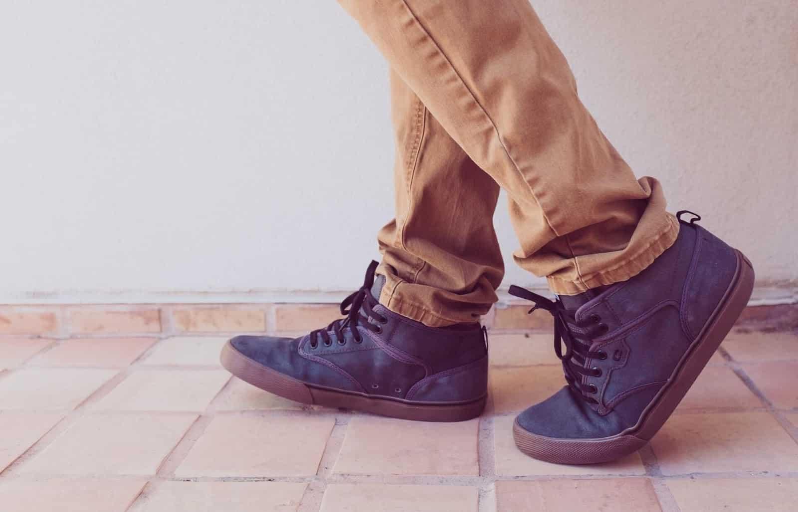 High Top Walking Shoes