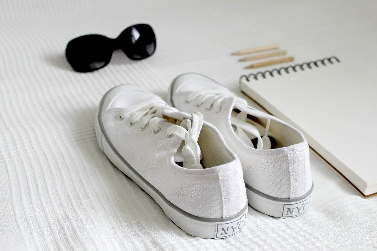 White Shoes and Laces