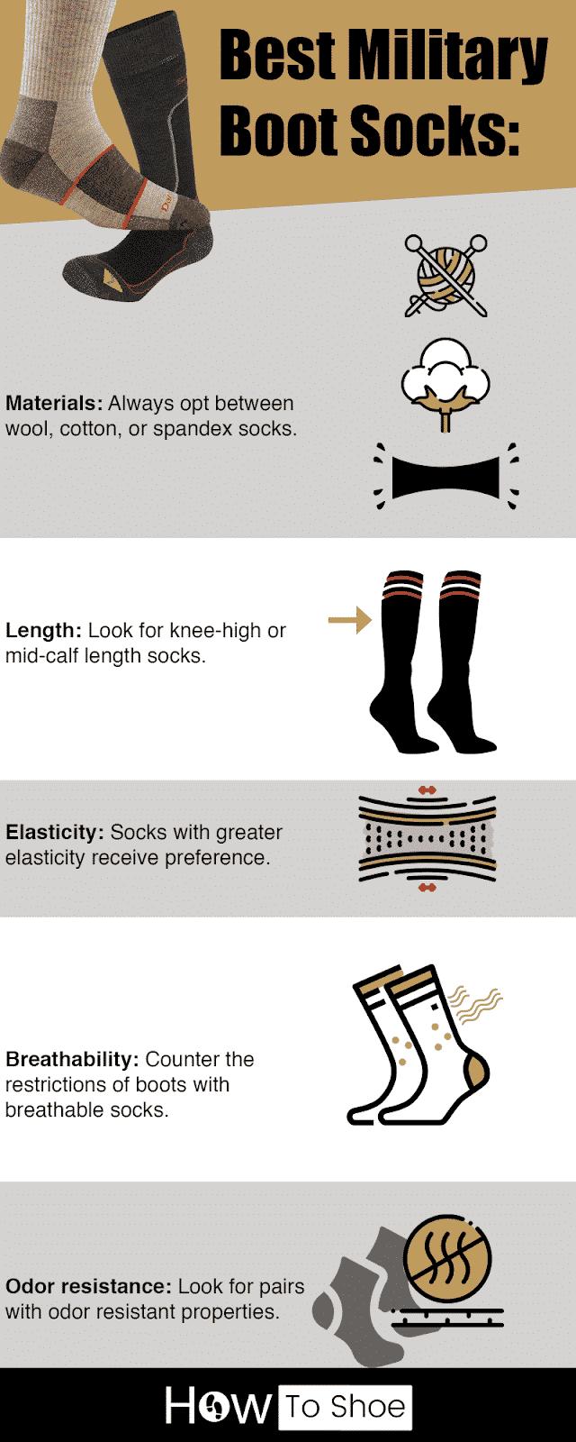 Best Military Boot Socks