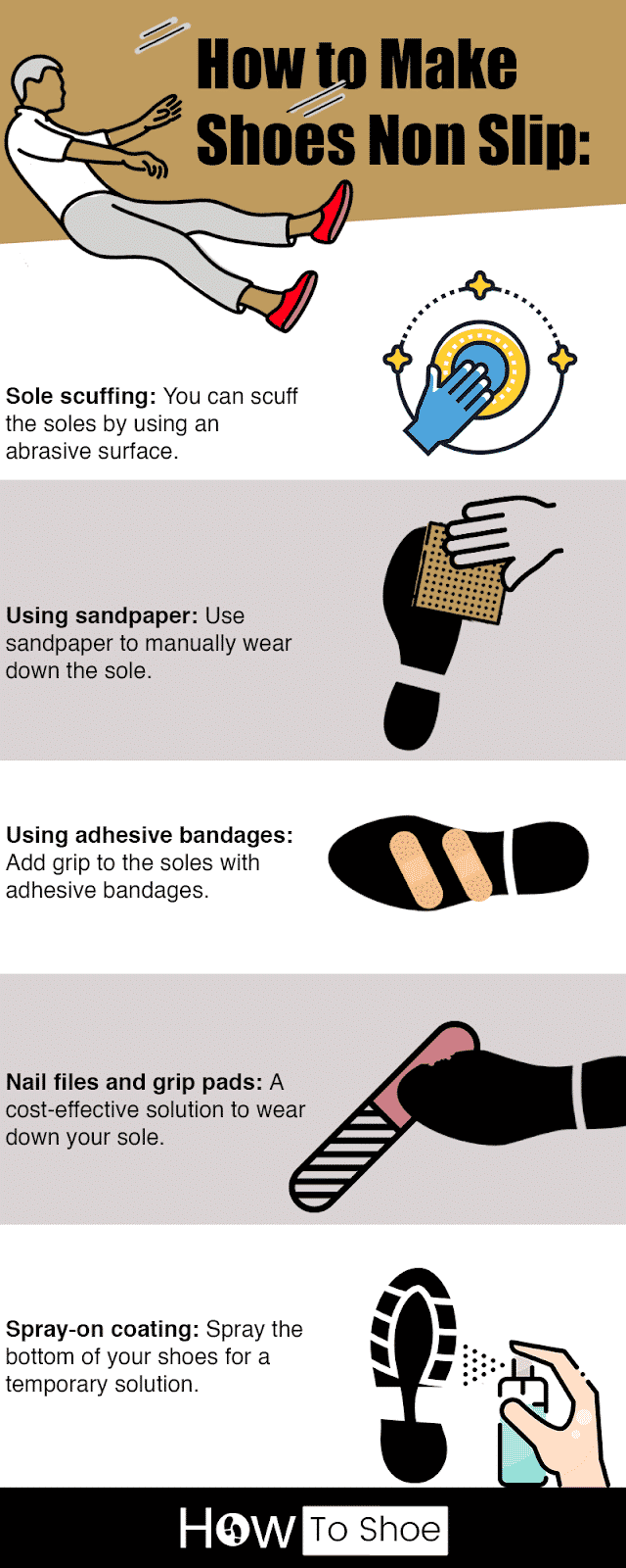 How To Make Shoes Non Slip