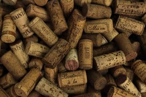 A pile of corks