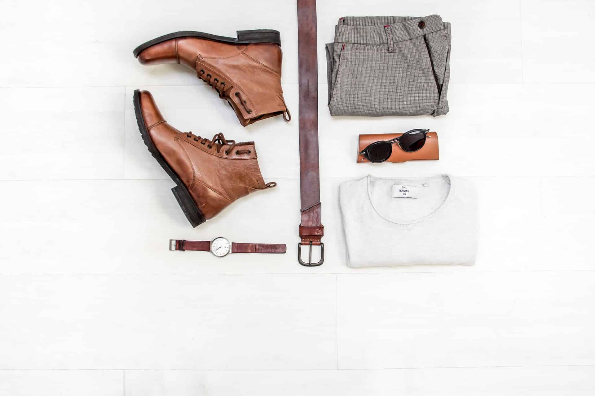 watch pants shoes and shirt